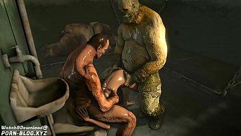 Муж лижет жене манду во времячко её порева с ебарем и принимает на лицо сперму